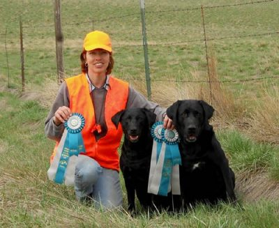 Not just talking the talk, we walk the walk. Our dogs bring home the birds and lots of awards too!