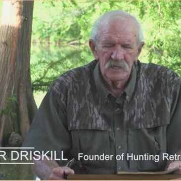 Omar Driskill, founder of the Hunting Retriever Club
