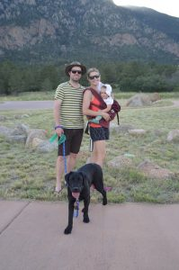 Labrador Retrievers make great hiking and camping companions