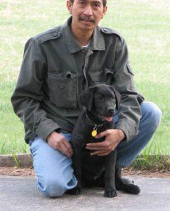 Black Labrador Retriever puppy